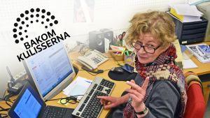 Anne Suominen, Bakom kulisserna
