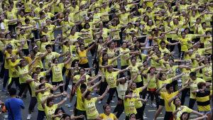 Filippinerna satte världsrekord i zumba den 19 juli 2015.