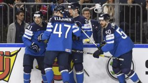 Lejonen jublar, ishockey-VM 2017.