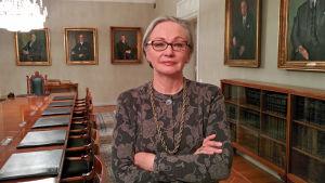 Högsta domstolens president Pauliine Koskelo