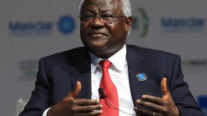 Sierra Leones president Ernest Bai Koroma.