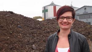 Teija Paavola, utvecklingschef för Biovakka i Åbo.
