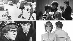 Kuvakooste sarjasta 60-luvun kuvakirja