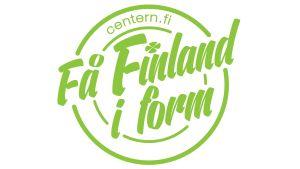 Centerns logo Få finland i form