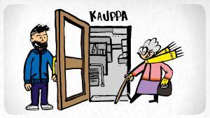 Kuvitus Antti Niemen blogikirjoitukseen