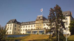 Internationella Röda korsets högkvarter i Genève.