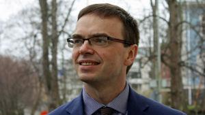 Sven Mikser, ordförande i det estniska parlamentets utrikesutskott.