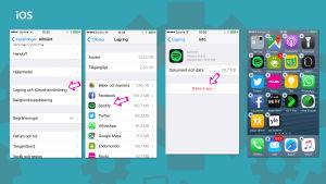 Så här raderar du appar från din iOS-mobiltelefon.