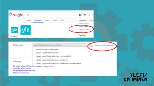 Kuvakaappaus Googlen kuvahakusivusta