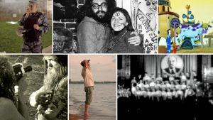 Hippejä, poliiseja, pioneereja, psykedeliaa. Kollaasi dokumentista Neuvostohipit