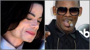 Michael Jackson och R. Kelly.