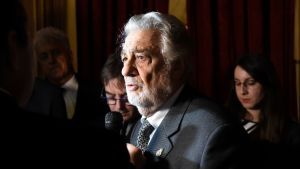 Plácido Domingo i New York i december 2018.
