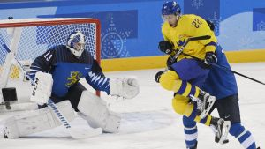 Lejonen mot Tre Kronor i OS