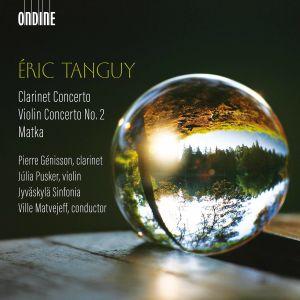 Eric Tanguy äänitteen kansi