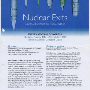 Vappu Taipale Nuclear Exits