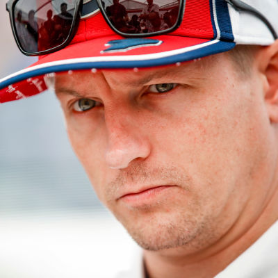 Kimi Räikkönen fotograferad i Japan i oktober 2019.