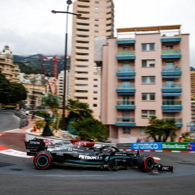 Valtteri Bottas i Monaco 2021.