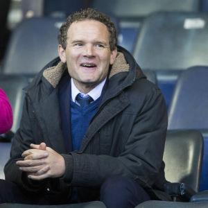 Jonatan Johansson är assisterande tränare i Glasgow Rangers.