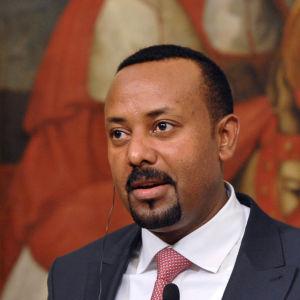 Abiy Ahmed, etiopiens premiärminister.