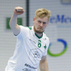 Ville Viljanen jublar i GrIFK 2020/2021.