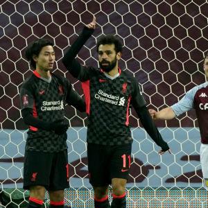 Mohamed Salah firar vid förtvivlade motståndare.