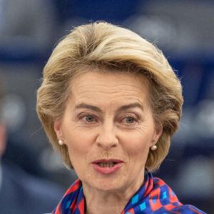 Ursula von der Leyen presenterade planen för hur EU ska lyckas bli klimatneutralt under de kommande 30 åren.
