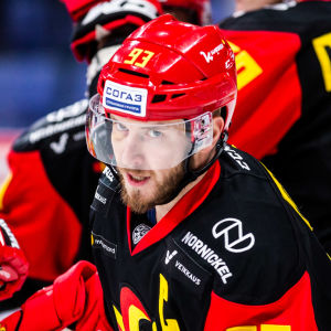 Peter Regin i Jokerits tröja.