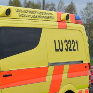 Karis brandstations ambulans.