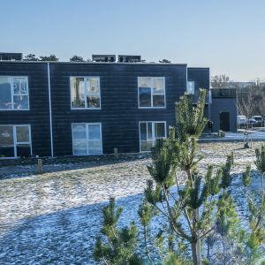 Den danska polisen granskar hus i Holbaek på grund av terrorismmisstankar
