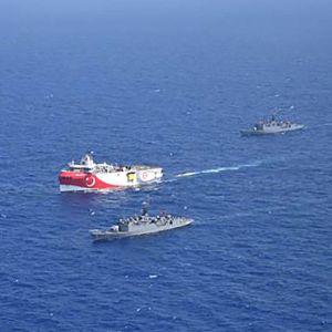 Grekland och Turkiet i gräl om havsområde i östra Medelhavet