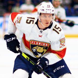 Anton Lundell spelar i Florida Panthers.