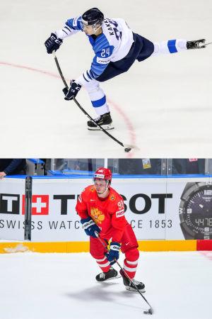Sex supertalanger i hockey-VM 2019.