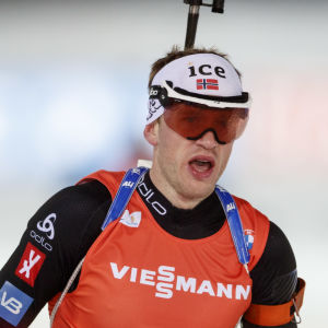 Johannes Thingnes Bø gapar.