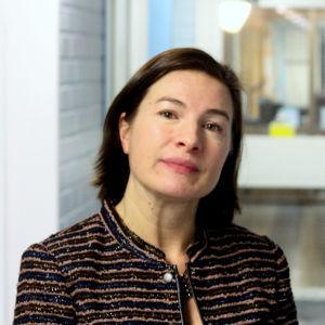 Anne Levonen, rektor i Vasa Gymnasium