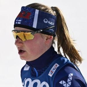 Johanna Matintalo i VM 2021.