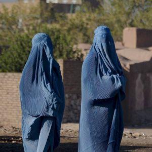 Kvinnor i Herat 21.9.2021