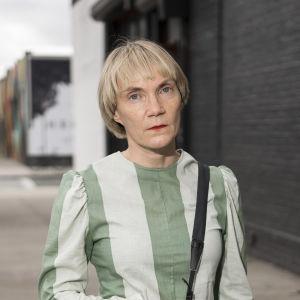 Porträtt på Liisa Jokinen.