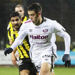 Jasin Assehnoun i FC Lahti 2020.
