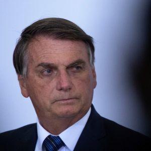 Jair Bolsonaro och Walter Braga Netto