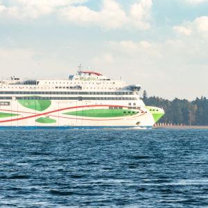 Tallink Megastar autoalutta.