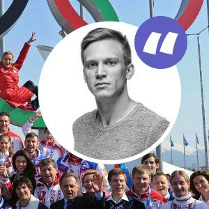 Ryssland vid vinter-OS.
