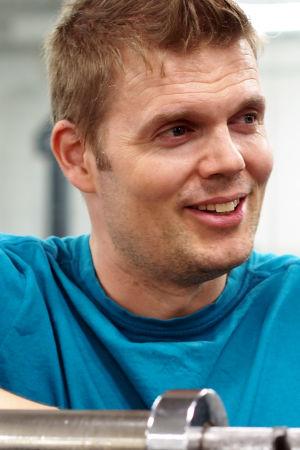 Personal trainer Timo Haikarainen