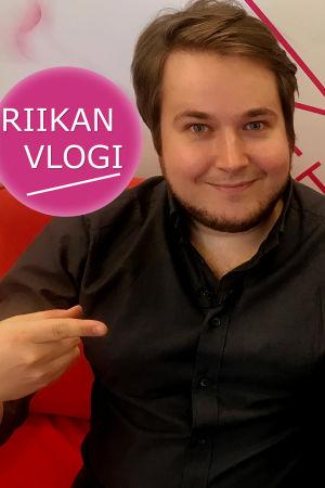 Kapellimestari Erkki Lasonpalo ja toimittaja Riikka Holopainen