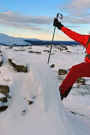 """Mikko """"Peltsi"""" Peltola ottaa vastaan talven kutsun ja lähtee Länsi-Lappiin kaamoksen kynnyksellä."""