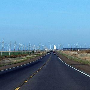 Vindkraft är framtiden. Spearville Wind Energy Facility, Kansas, USA