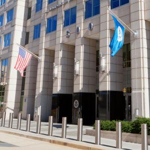 Ministeriet för hemlandets säkerhet i Washington är ett av minst tre amerikanska ministerier som har utsatts för dataspionage.