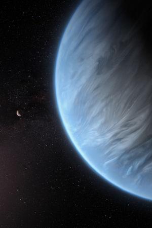 Exoplaneten K2-18b