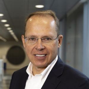 Posti Groupin toimitusjohtaja Heikki Malinen Posti Groupin pääkonttorissa Helsingissä.