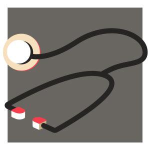 Kuva stetoskoopista