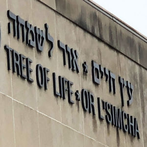 Synagogan Tree of Life i Pittsburgh, Pennsylvania, USA